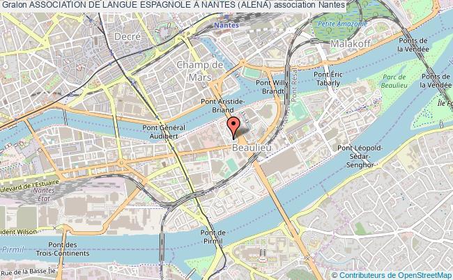 plan association Association De Langue Espagnole À Nantes (alena)