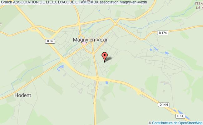 plan association Association De Lieux D'accueil Familiaux Magny-en-Vexin
