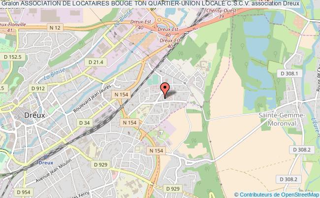 plan association Association De Locataires Bouge Ton Quartier-union Locale C.s.c.v.