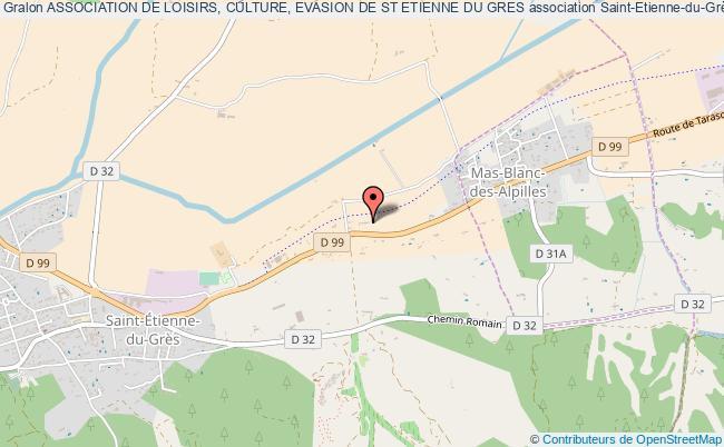 plan association Association De Loisirs, Culture, Evasion De St Etienne Du Gres