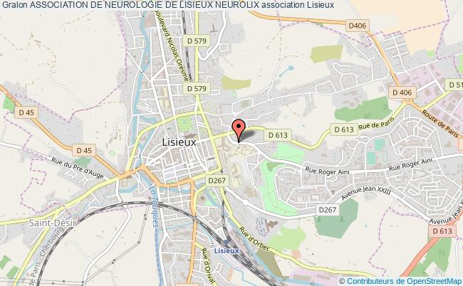 plan association Association De Neurologie De Lisieux Neurolix