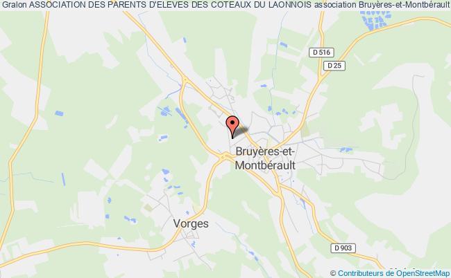 plan association Association De Parents D'eleves (a.p.e.) De Bruyeres Et Montberault