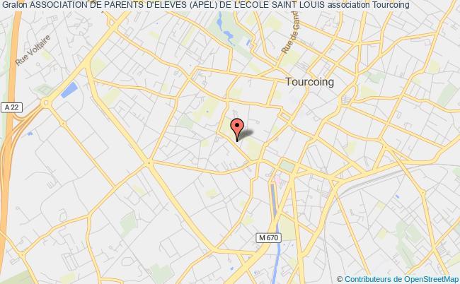 plan association Association De Parents D'eleves (apel) De L'ecole Saint Louis