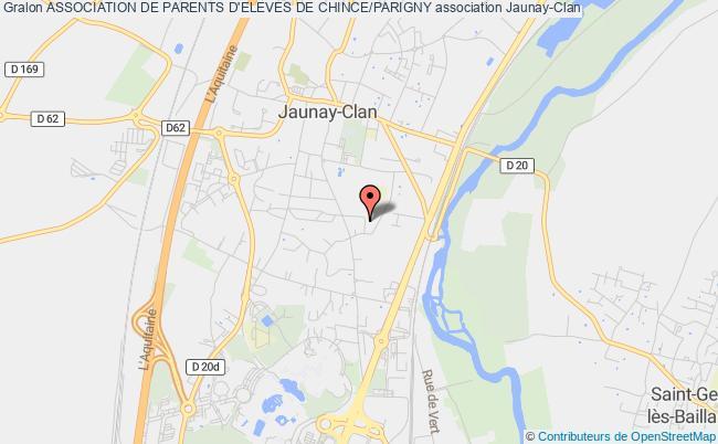plan association Association De Parents D'eleves De Chince/parigny