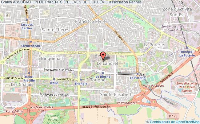 plan association Association De Parents D'eleves De Guillevic