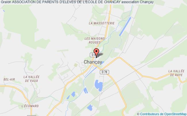 plan association Association De Parents D'eleves De L'ecole De Chancay Chançay