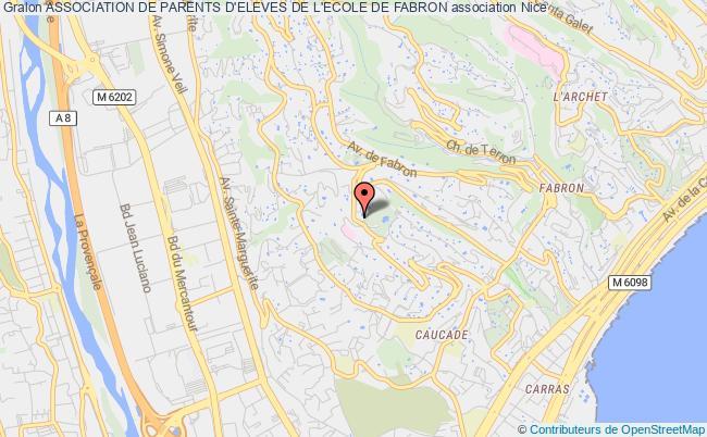 plan association Association De Parents D'eleves De L'ecole De Fabron