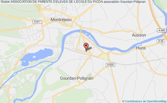 plan association Association De Parents D'eleves De L'ecole Du Picon