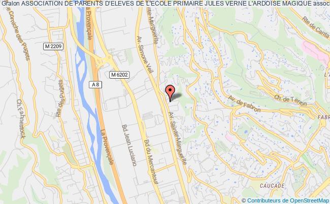 plan association Association De Parents D'eleves De L'ecole Primaire Jules Verne L'ardoise Magique