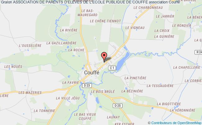 plan association Association De Parents D'eleves De L'ecole Publique De Couffe