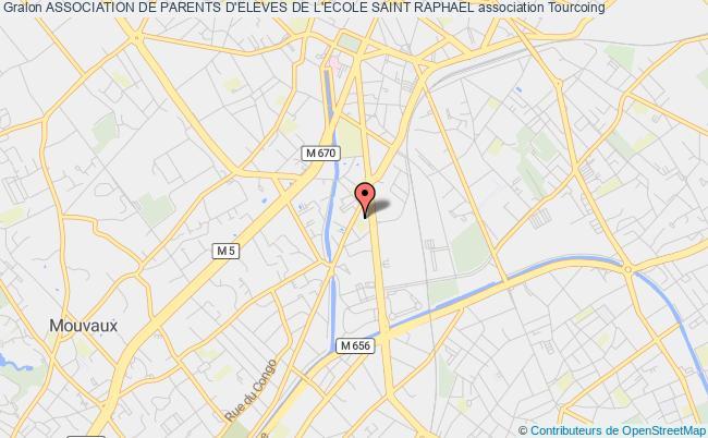 plan association Association De Parents D'eleves De L'ecole Saint Raphael
