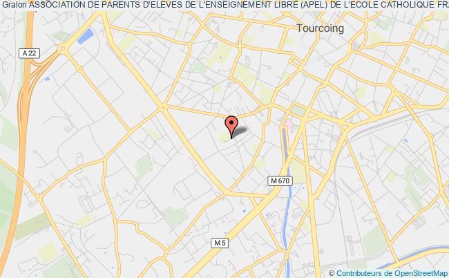 plan association Association De Parents D'eleves De L'enseignement Libre (apel) De L'ecole Catholique Francoise Dolto