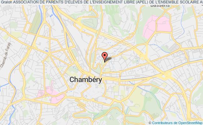 plan association Association De Parents D'eleves De L'enseignement Libre (apel) Du Lycee Saint Ambroise