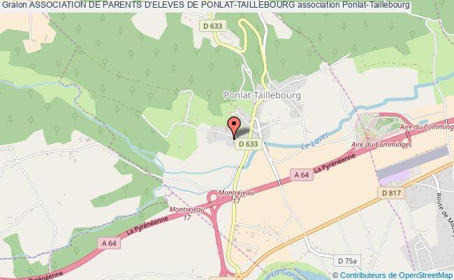 plan association Association De Parents D'eleves De Ponlat-taillebourg