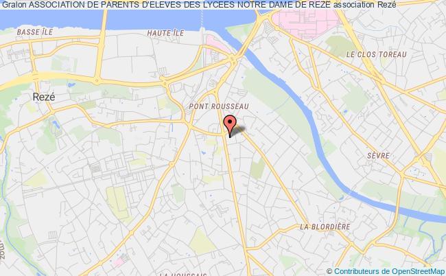 plan association Association De Parents D'eleves Des Lycees Notre Dame De Reze
