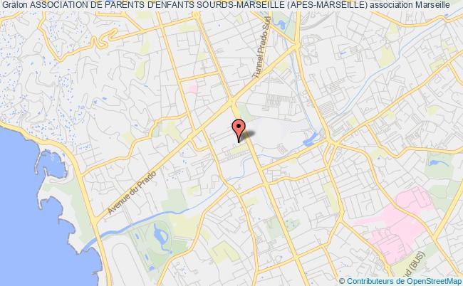 plan association Association De Parents D'enfants Sourds-marseille (apes-marseille) Marseille