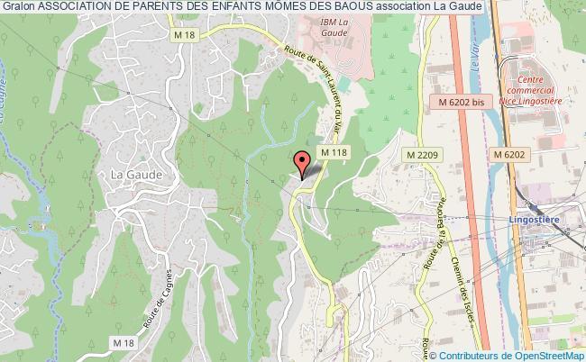 plan association Association De Parents Des Enfants MÔmes Des Baous