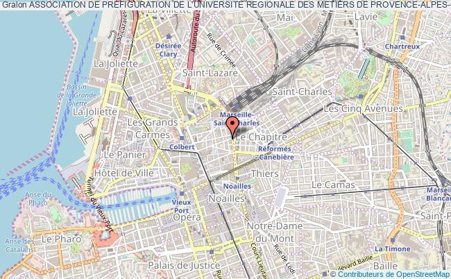 plan association Association De Prefiguration De L'universite Regionale Des Metiers De Provence-alpes-cote D'azur : Vivre Et Etudier Ensemble A L'urm