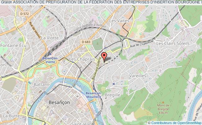 plan association Association De Prefiguration De La Federation Des Entreprises D'insertion Bourgogne Franche-comte
