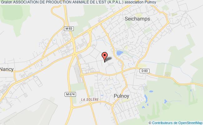 plan association Association De Production Animale De L'est (a.p.a.l.) Pulnoy