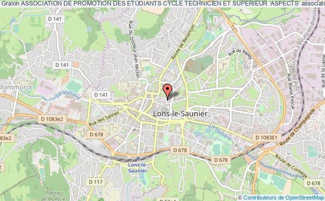plan association Association De Promotion Des Etudiants Cycle Technicien Et Superieur 'aspects'