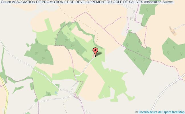 plan association Association De Promotion Et De Developpement Du Golf De Salives Salives