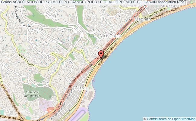 plan association Association De Promotion (france) Pour Le Developpement De Tianjin Nice