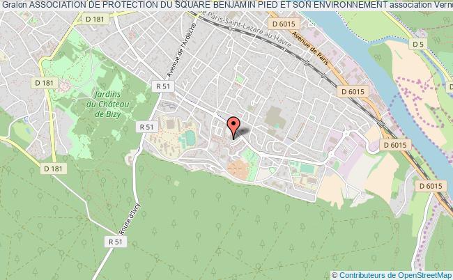 plan association Association De Protection Du Square Benjamin Pied Et Son Environnement Vernon