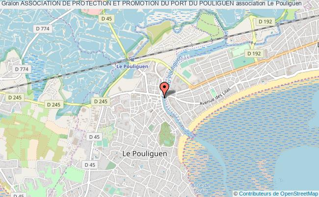 plan association Association De Protection Et Promotion Du Port Du Pouliguen