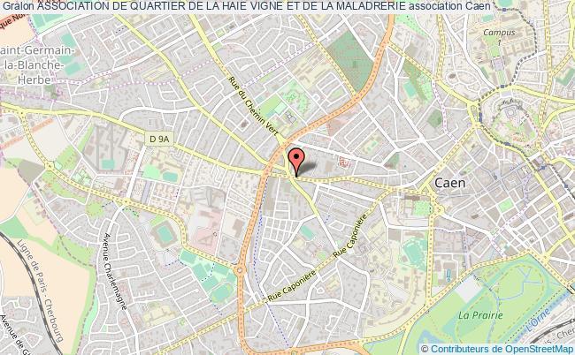 plan association Association De Quartier De La Haie Vigne Et De La Maladrerie