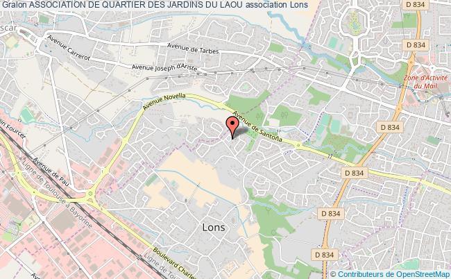 plan association Association De Quartier Des Jardins Du Laou