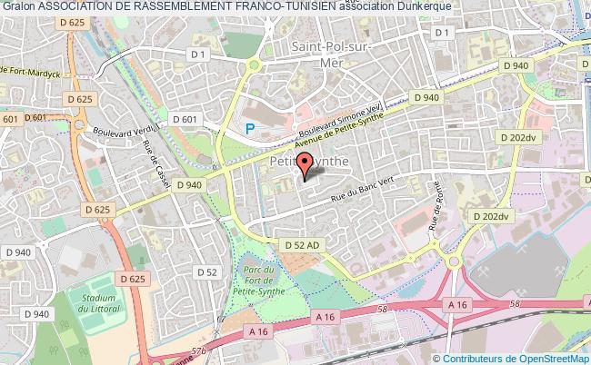 plan association Association De Rassemblement Franco-tunisien