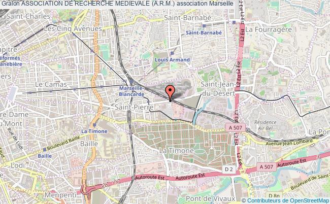 plan association Association De Recherche Medievale (a.r.m.)