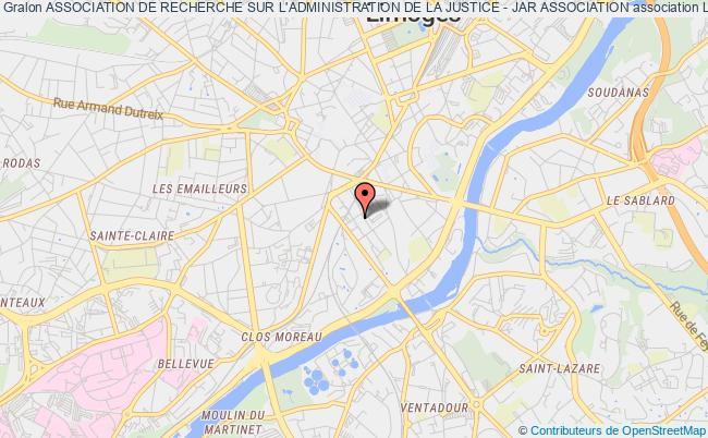 plan association Association De Recherche Sur L'administration De La Justice - Jar Association
