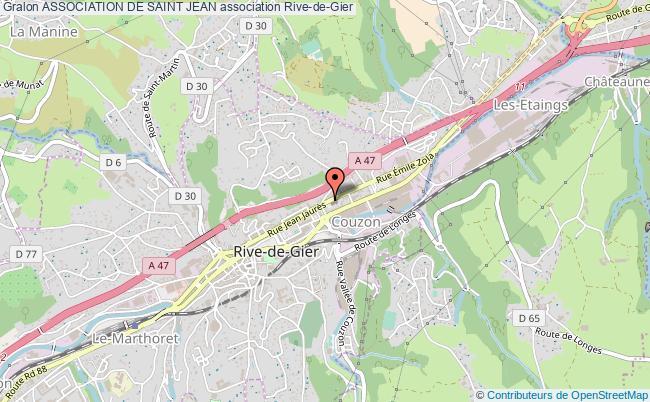 plan association Association De Saint Jean Rive-de-Gier