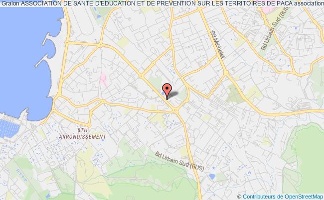 plan association Association De Sante D'education Et De Prevention Sur Les Territoires De Paca