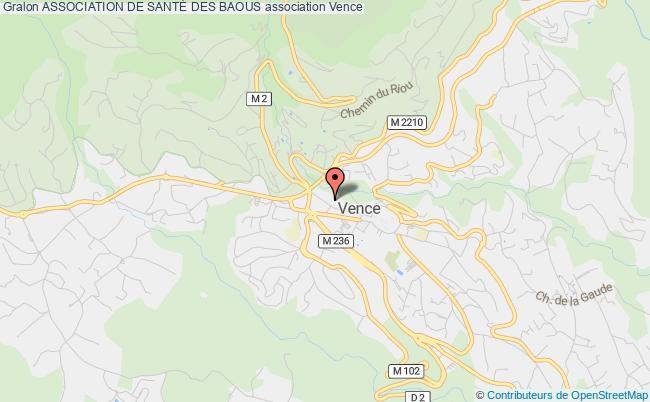 plan association Association De SantÉ Des Baous