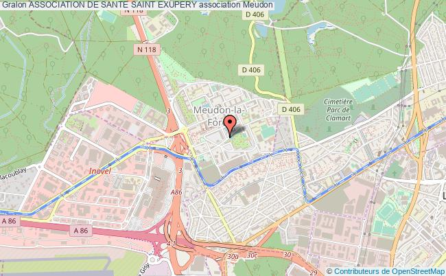 plan association Association De Sante Saint Exupery