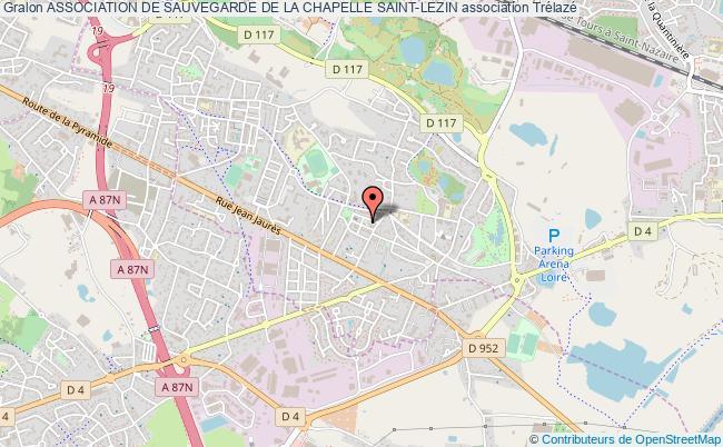 plan association Association De Sauvegarde De La Chapelle Saint-lezin Trélazé