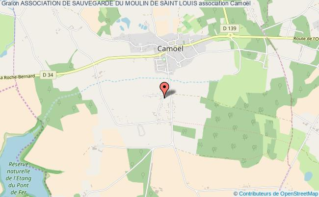 plan association Association De Sauvegarde Du Moulin De Saint Louis