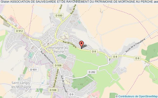 plan association Association De Sauvegarde Et De Rayonnement Du Patrimoine De Mortagne Au Perche