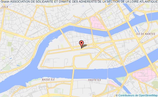 plan association Association De Solidarite Et D'amitie Des Adherents De La Section De La Loire Atlantique Du Syndicat National Des Personnels De Direction De L'education Nationale