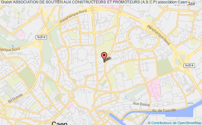 plan association Association De Soutien Aux Constructeurs Et Promoteurs (a.s.c.p) Caen