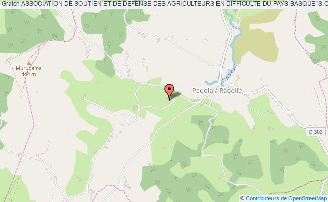 plan association Association De Soutien Et De Defense Des Agriculteurs En Difficulte Du Pays Basque 's.o.s. Indartu'