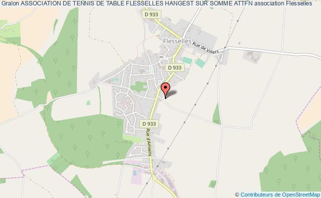 plan association Association De Tennis De Table Flesselles Hangest Sur Somme Attfn