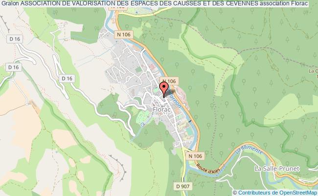 plan association Association De Valorisation Des Espaces Des Causses Et Des Cevennes