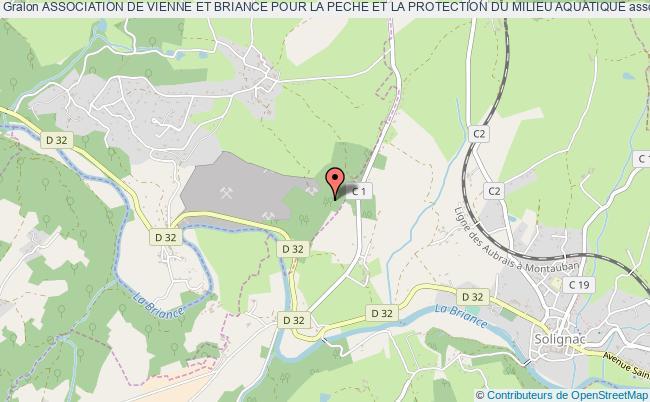 plan association Association De Vienne Et Briance Pour La Peche Et La Protection Du Milieu Aquatique
