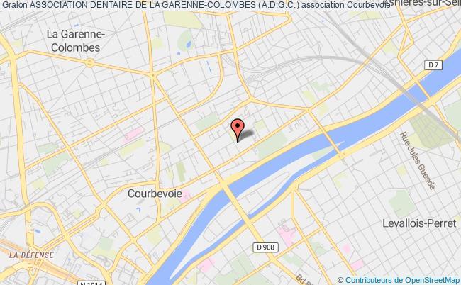 plan association Association Dentaire De La Garenne-colombes (a.d.g.c.) Courbevoie