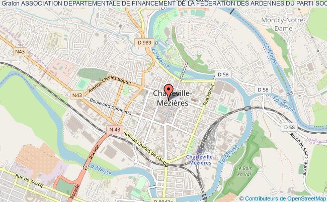 plan association Association Departementale De Financement De La Federation Des Ardennes Du Parti Socialiste