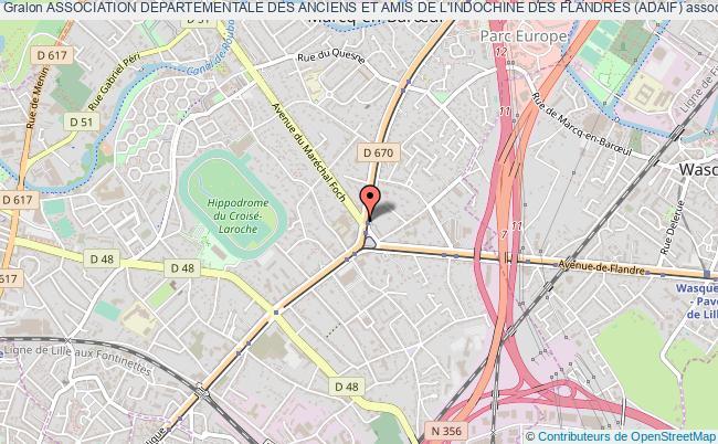 plan association Association Departementale Des Anciens Et Amis De L'indochine Des Flandres (adaif)
